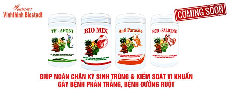 Sản phẩm ngăn ngừa ký sinh trùng & vi khuẩn Vibrio